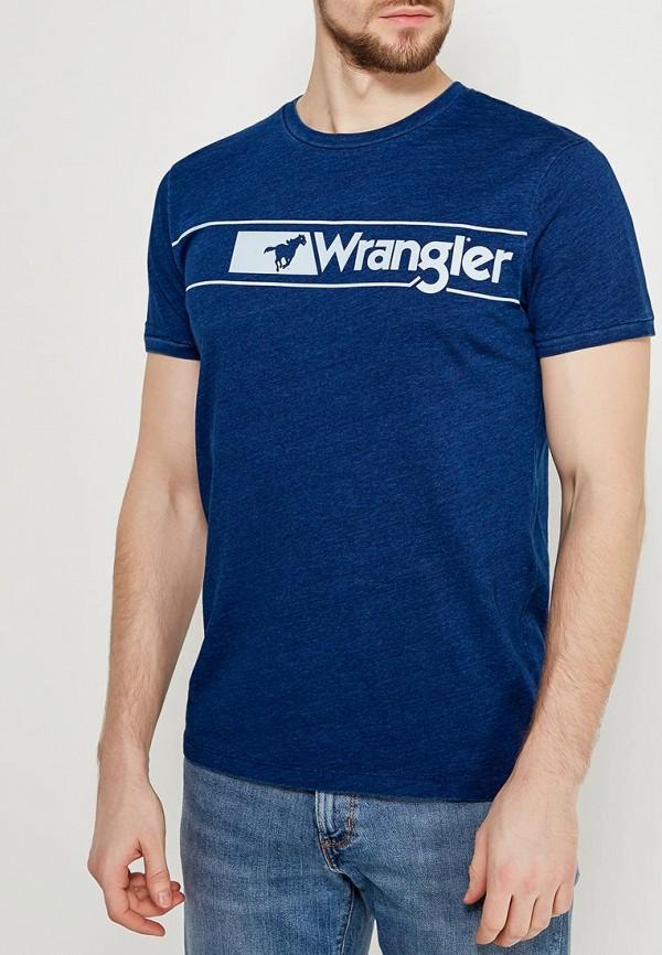 Футболка Wrangler Wrangler WR224EMAPFJ6 цены