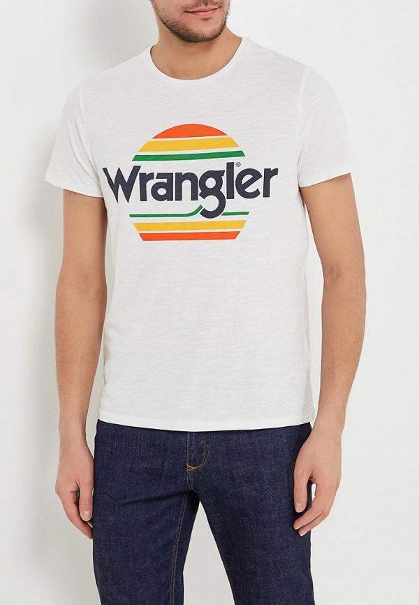 Футболка Wrangler Wrangler WR224EMAPFU9 цены