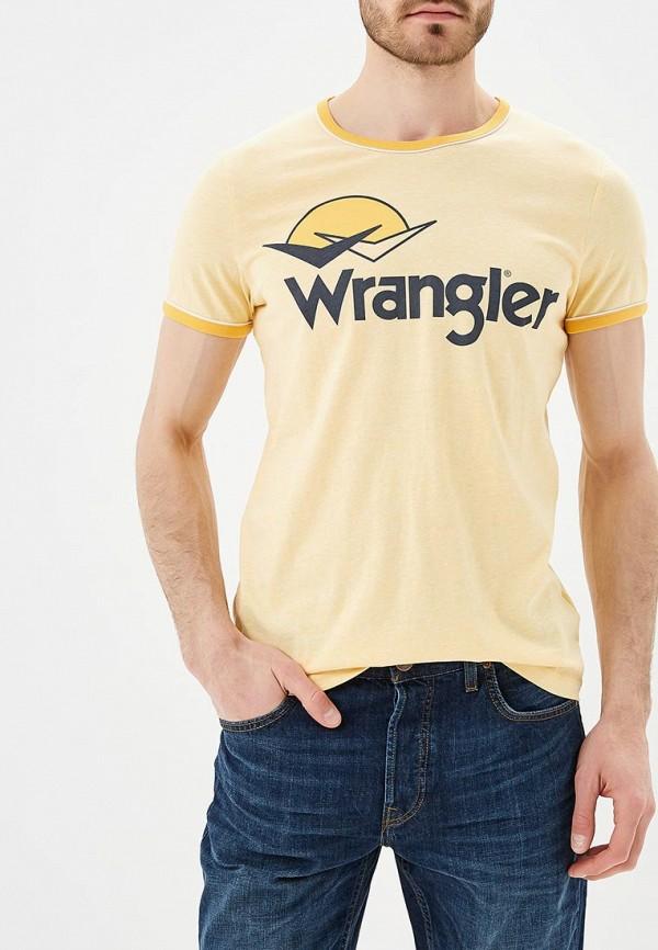 Футболка Wrangler Wrangler WR224EMAPFV3 wrangler wrangler w0080us85