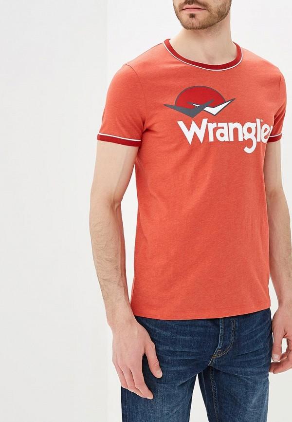 Футболка Wrangler Wrangler WR224EMAPFV4 футболка wrangler wrangler wr224emapfi8