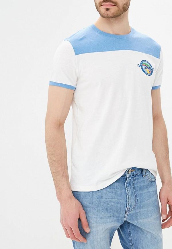 Футболка Wrangler Wrangler WR224EMAPFV5 футболка wrangler w7b52gnuy