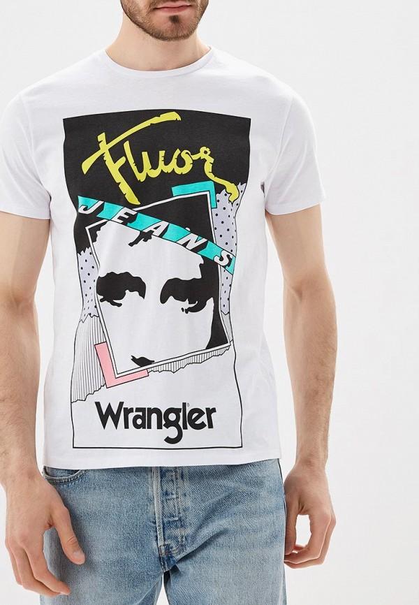 Футболка Wrangler Wrangler WR224EMBOWC0 цены