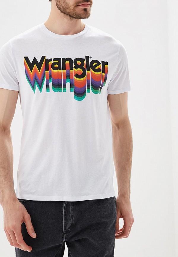 Футболка Wrangler Wrangler WR224EMBOWC3 футболка wrangler wrangler wr224emapfu3
