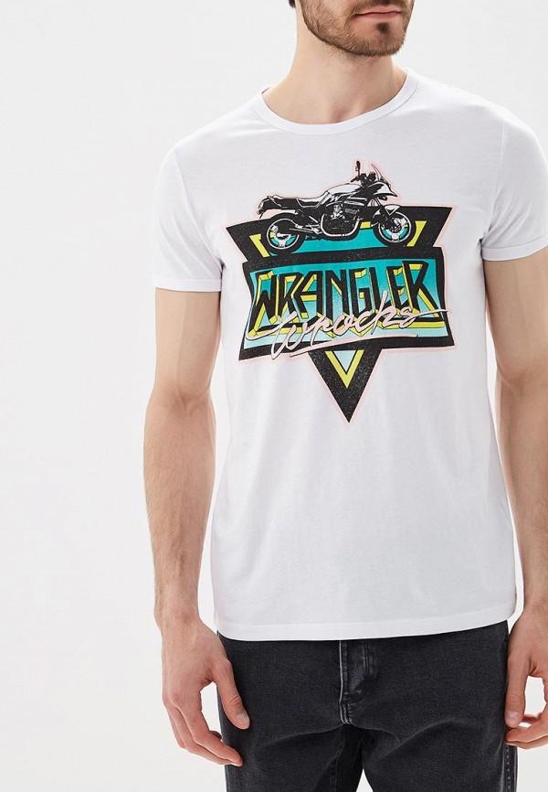 Футболка Wrangler Wrangler WR224EMBOWC4 футболка wrangler wrangler wr224emapfi8