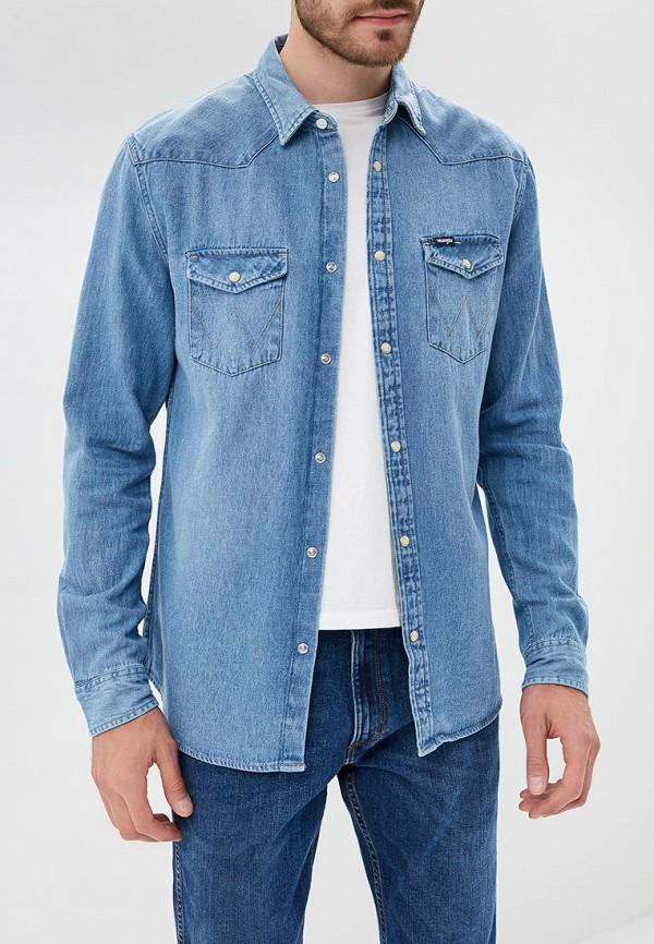Рубашка джинсовая Wrangler Wrangler WR224EMBOWD3