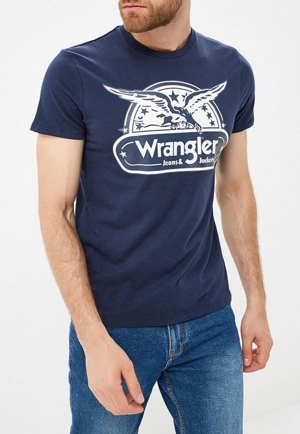 Футболка Wrangler Wrangler WR224EMBOWG9