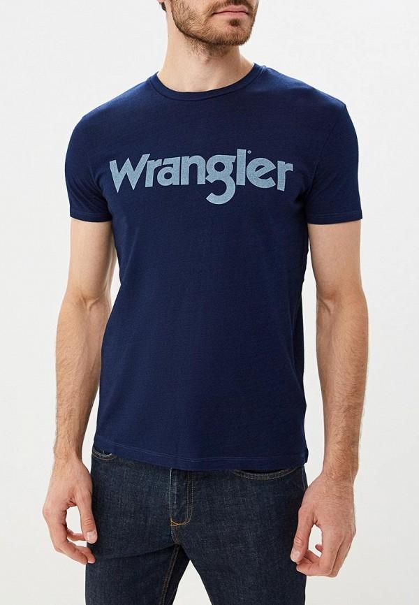 Футболка Wrangler Wrangler WR224EMBOWH0