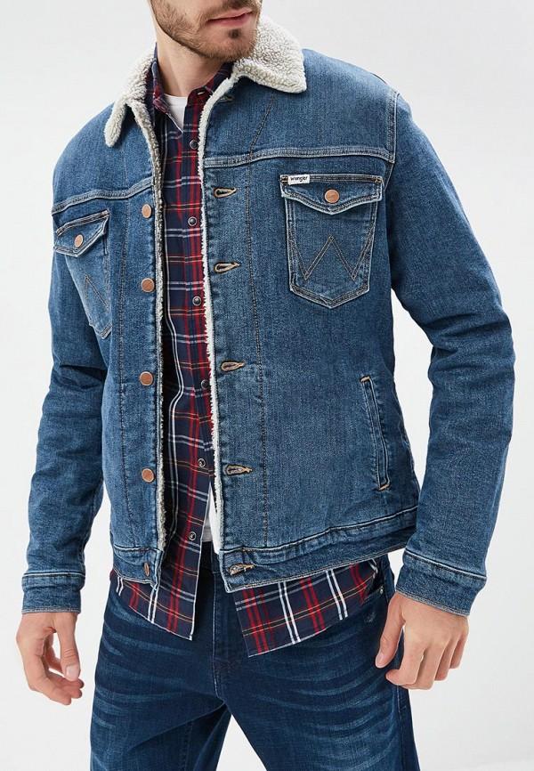 Куртка джинсовая Wrangler Wrangler WR224EMBOWH8