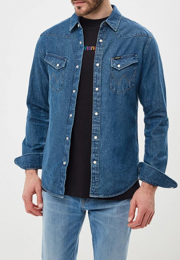 Рубашка джинсовая Wrangler Wrangler W5974LWYZ