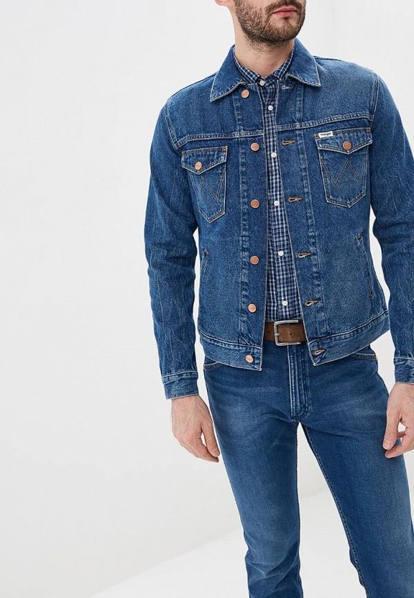 Куртка джинсовая Wrangler Wrangler WR224EMDGGC2 куртка джинсовая wrangler wrangler wr224emdggc5