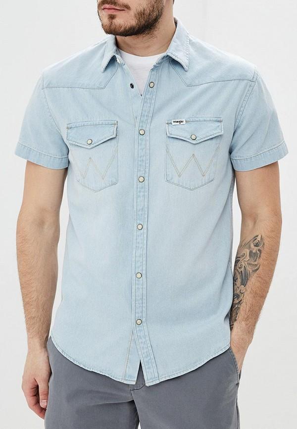 цены Рубашка джинсовая Wrangler Wrangler WR224EMDGGC6