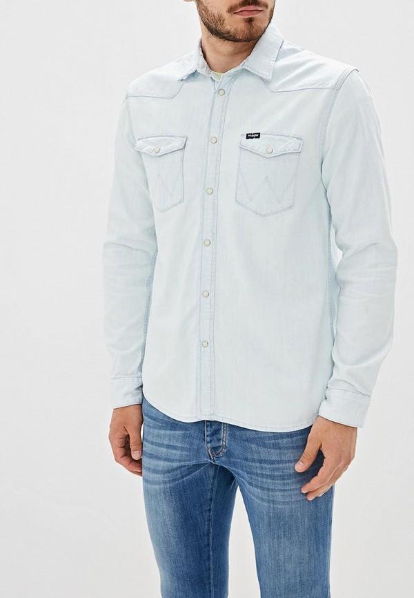 Рубашка джинсовая Wrangler Wrangler WR224EMDGGC7 рубашка wrangler wrangler wr224emapfe2