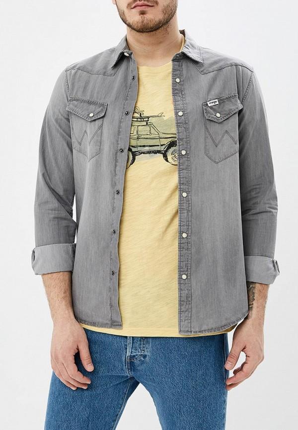 Рубашка джинсовая Wrangler Wrangler WR224EMDGGC9