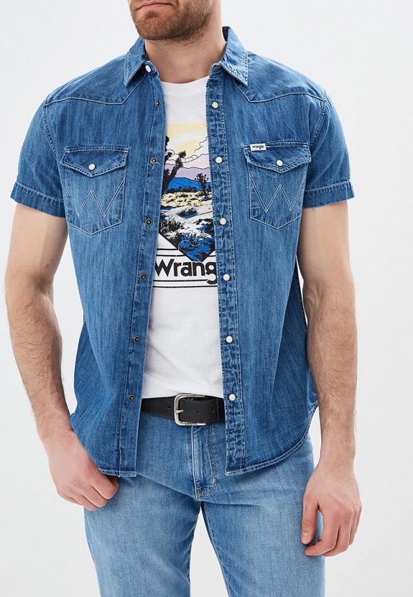 Рубашка джинсовая Wrangler Wrangler WR224EMDGGD0 рубашка wrangler wrangler wr224emqtn87 page 8