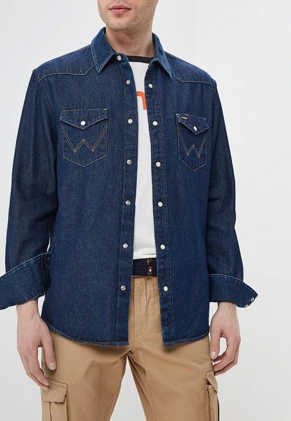 Рубашка джинсовая Wrangler Wrangler WR224EMDGGD1