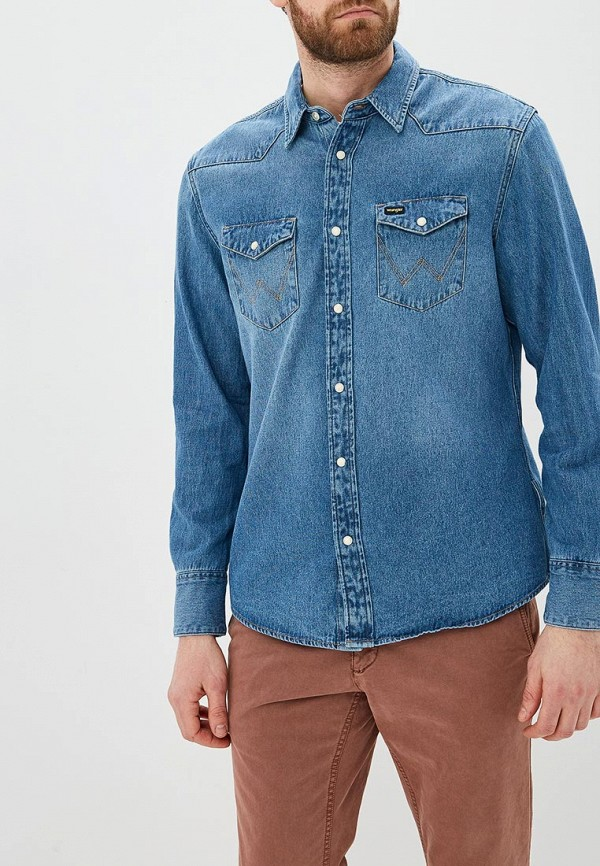 Рубашка Wrangler Wrangler WR224EMDGGD2 цена