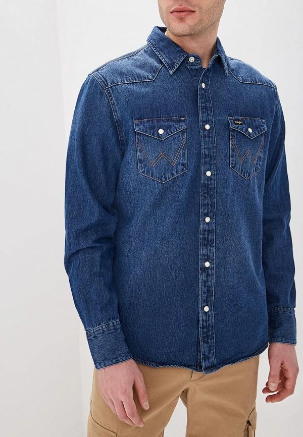 Рубашка джинсовая Wrangler Wrangler WR224EMDGGD3
