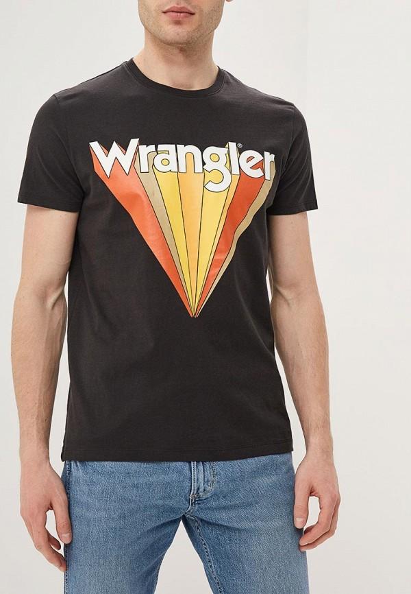 лучшая цена Футболка Wrangler Wrangler WR224EMDGGJ2