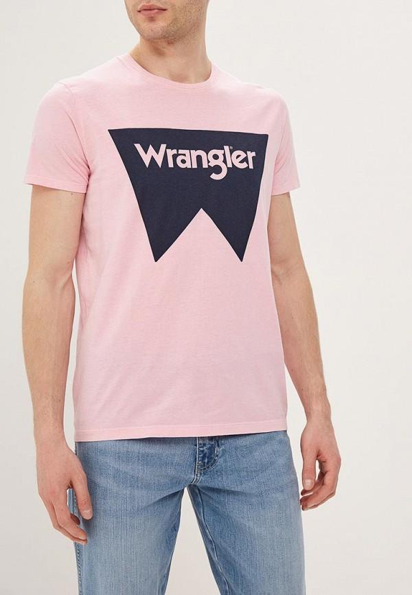 лучшая цена Футболка Wrangler Wrangler WR224EMDQRO4