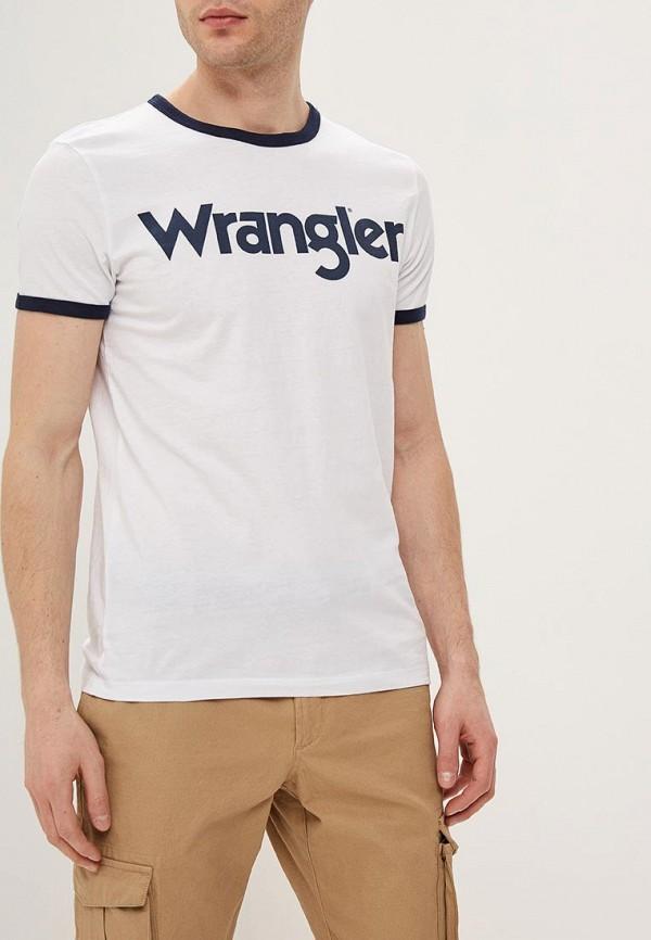 лучшая цена Футболка Wrangler Wrangler WR224EMDQRQ7