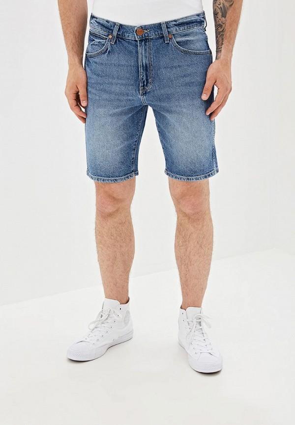 мужские шорты wrangler, синие