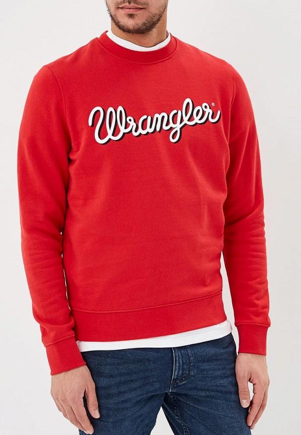 Свитшот Wrangler Wrangler WR224EMDTIA2 wrangler wrangler w0080us85