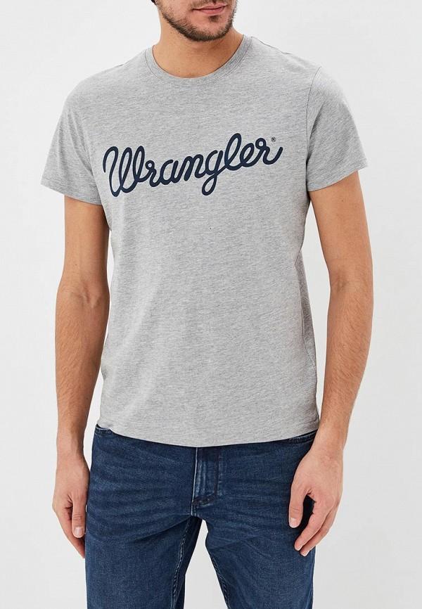 Футболка Wrangler Wrangler WR224EMDTIA5 wrangler футболка