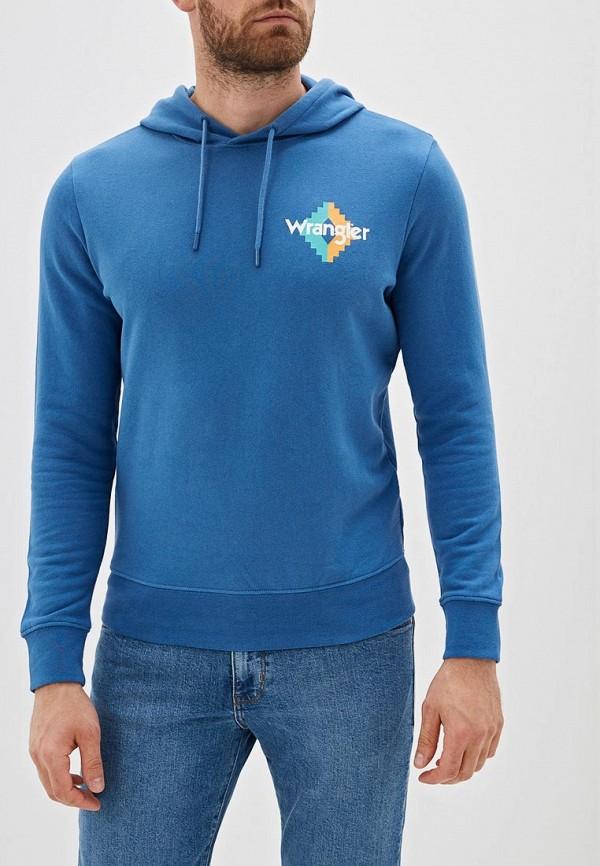 мужские худи wrangler, синие