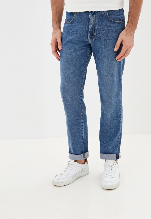 мужские джинсы wrangler, синие