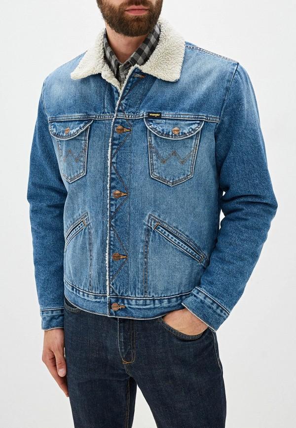 Куртка джинсовая Wrangler Wrangler WR224EMFQCT7 куртка джинсовая wrangler wrangler wr224emdggc5