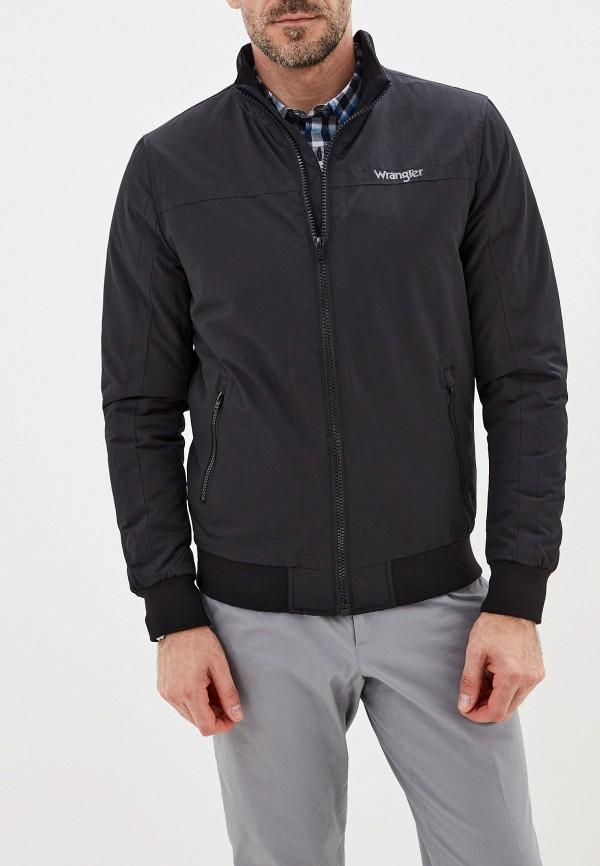 мужская куртка wrangler, черная