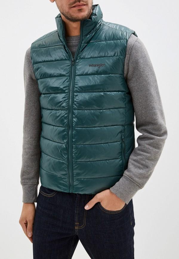 мужской жилет wrangler, зеленый