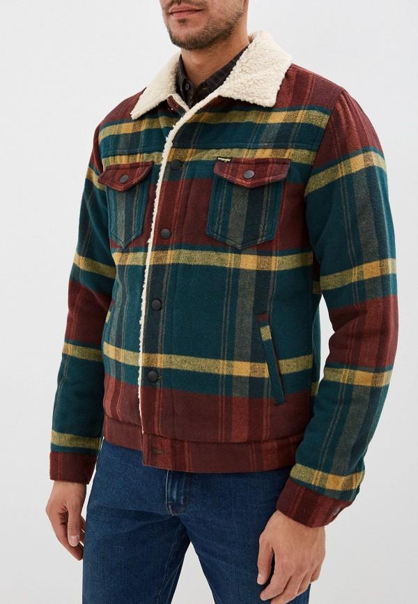мужская куртка wrangler, разноцветная