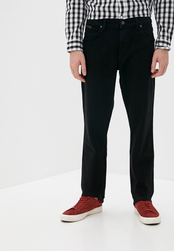 мужские прямые джинсы wrangler, черные