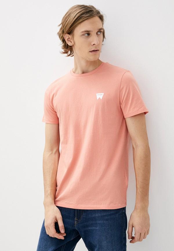 мужская футболка с коротким рукавом wrangler