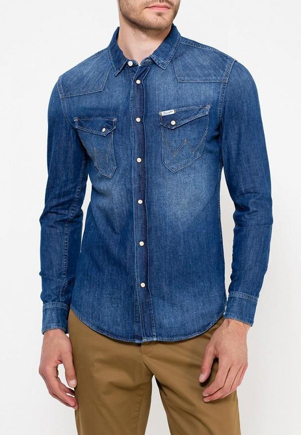 Рубашка джинсовая Wrangler Wrangler WR224EMVHF26 mcr джинсовая рубашка