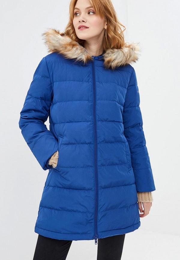 Купить Пуховик Wrangler, WR224EWBOHM6, синий, Осень-зима 2018/2019