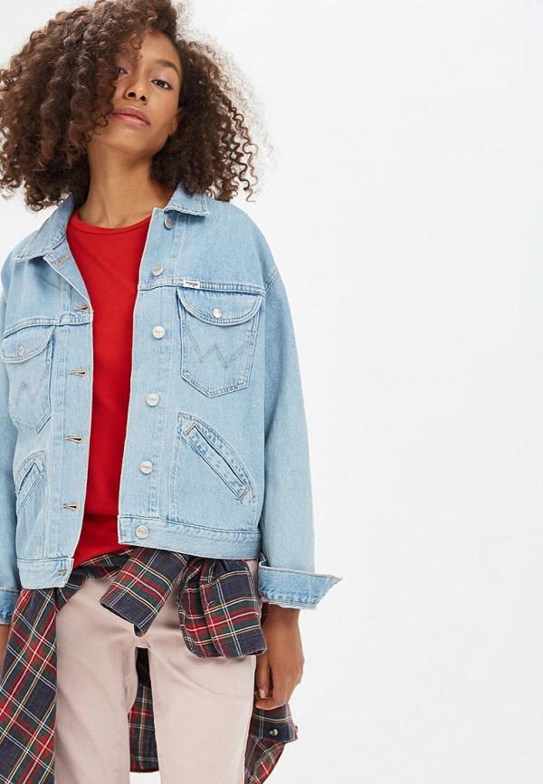 Куртка джинсовая Wrangler Wrangler WR224EWBOHT5