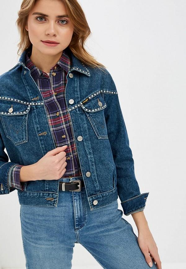 Куртка джинсовая Wrangler Wrangler WR224EWDFWU5