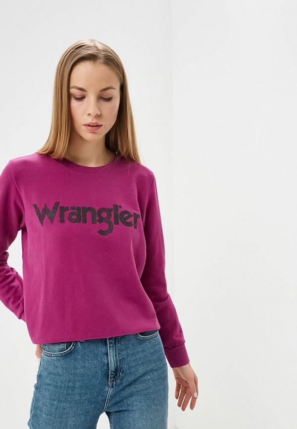 Свитшот Wrangler Wrangler WR224EWDFWU6 свитшот wrangler wrangler wr224ewxvm65