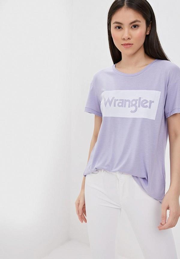 цена на Футболка Wrangler Wrangler WR224EWDQOH1