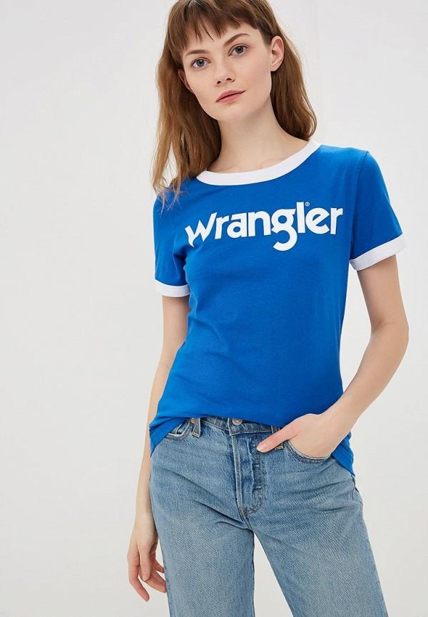 Футболка Wrangler Wrangler WR224EWDQOH4 футболка wrangler wrangler wr224embowh4