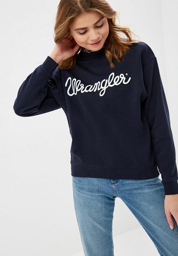 Свитшот Wrangler Wrangler WR224EWDSSW1 свитшот wrangler wrangler wr224ewxvm65