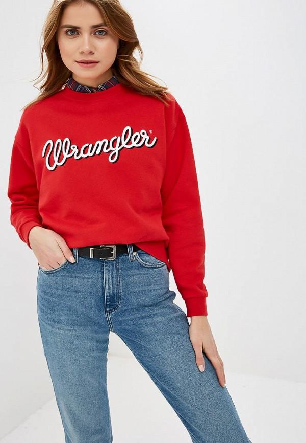 Свитшот Wrangler Wrangler WR224EWDSSW2 свитшот wrangler wrangler wr224ewxvm65