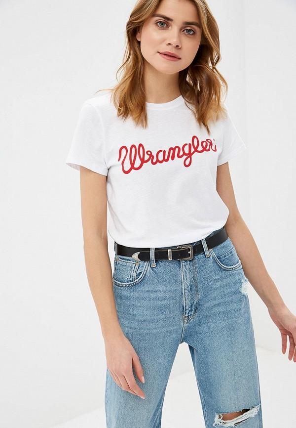 Футболка Wrangler Wrangler WR224EWDSSW3 слипоны wrangler wrangler wr224amqya37