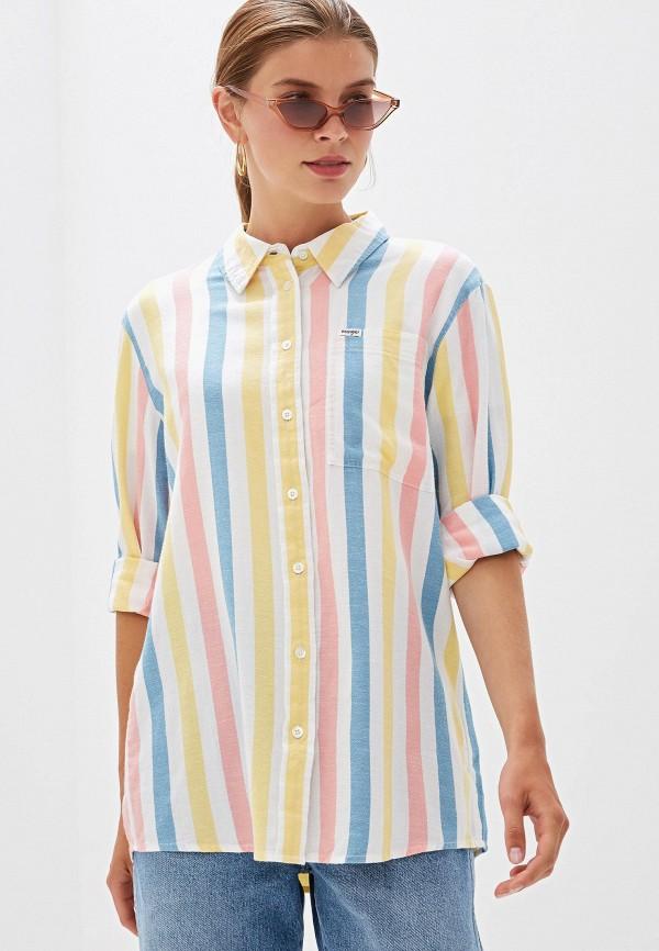 Рубашка Wrangler Wrangler WR224EWFQDK5 рубашка wrangler wrangler wr224emapfe2