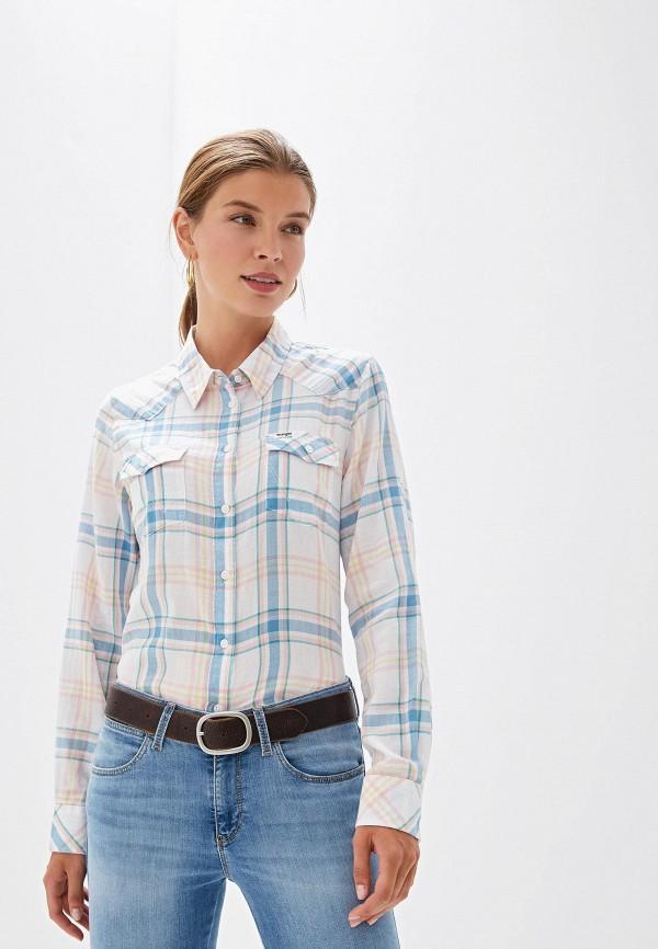 женская рубашка wrangler, разноцветная
