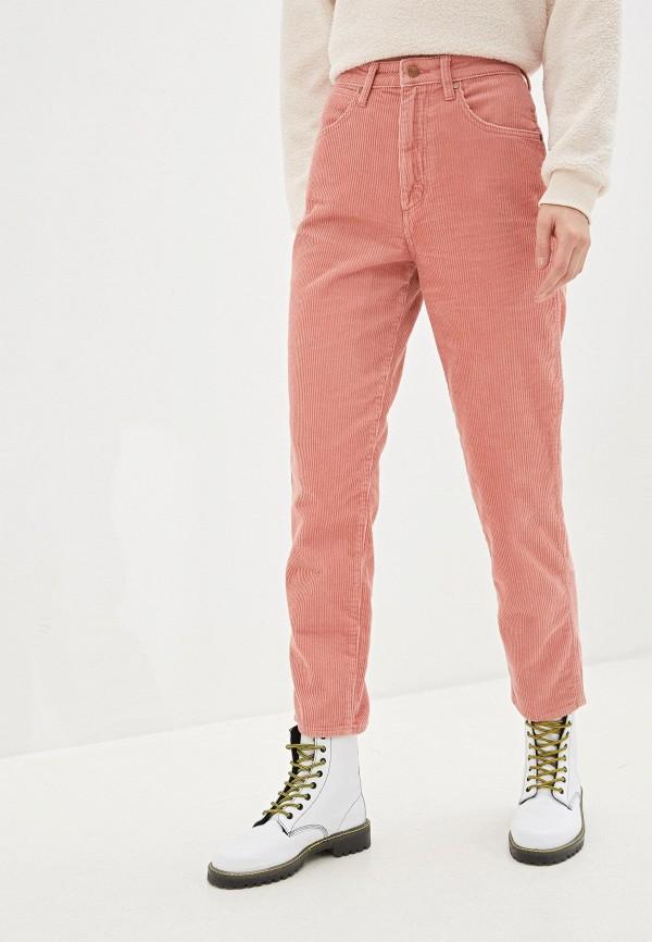 женские повседневные брюки wrangler, розовые
