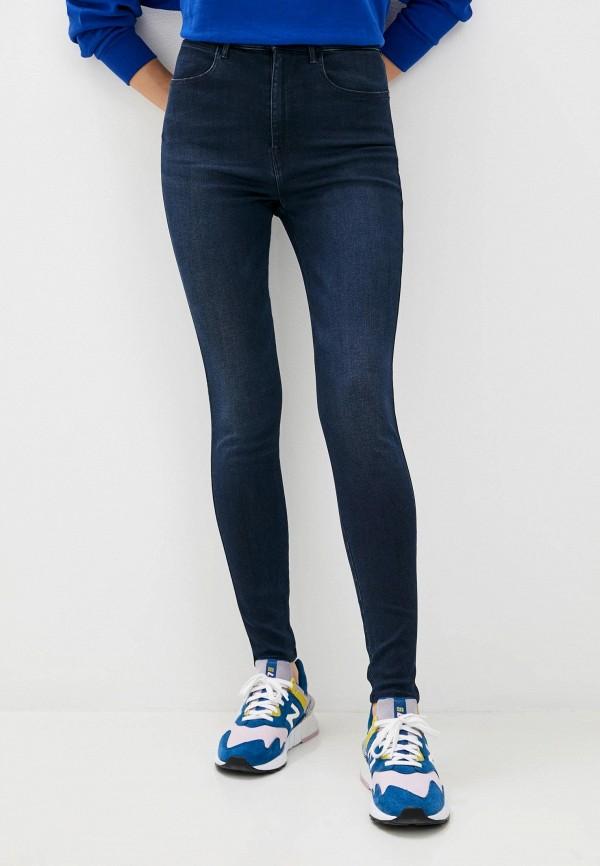 женские джинсы wrangler, синие