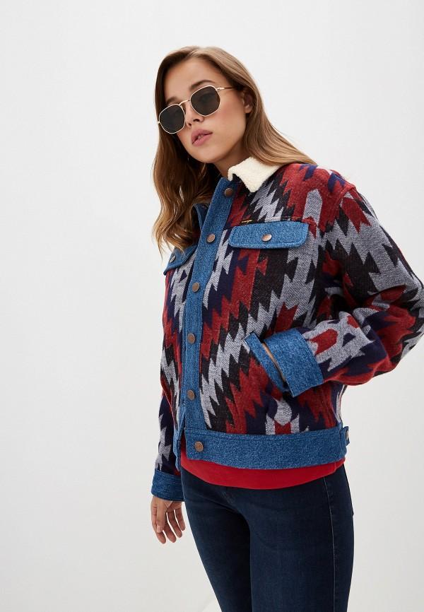 Куртка джинсовая Wrangler Wrangler WR224EWFQDS2 куртка джинсовая wrangler wrangler wr224emdggc5